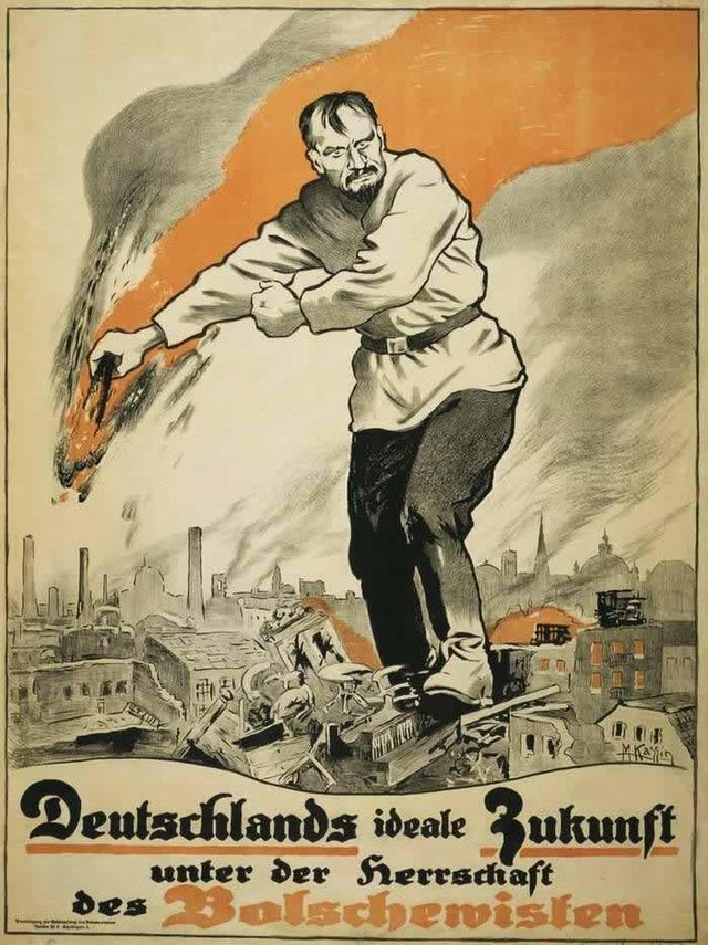Anti Communist Propaganda Is More Awesome Than Any Horror Movie Poster Communist Propaganda Propaganda Posters Horror Movie Posters