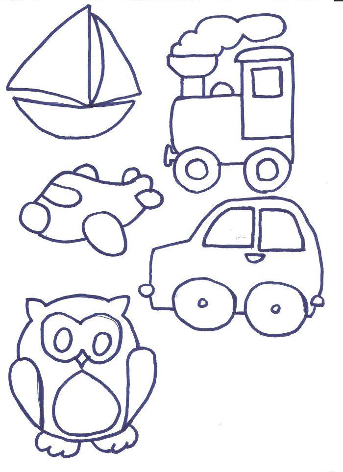 Moldes Patch Aplique Projetos De Arte Infantil