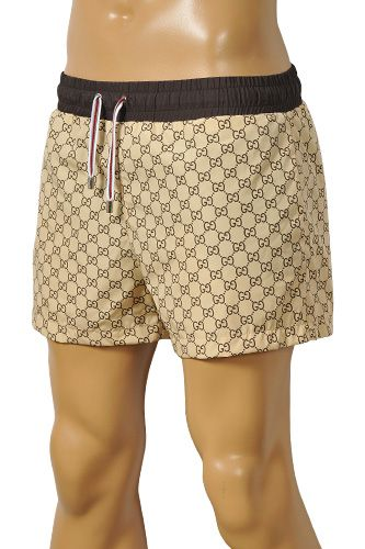 GUCCI Logo Printed Swim Shorts For Men #45 | FiloMilano.com ...