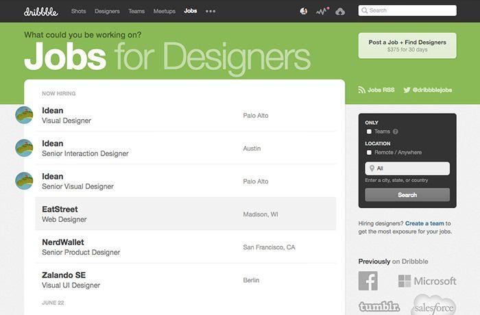 50 Best Job Sites For Freelancers And Independent Professionals Hongkiat Freelancing Jobs Freelancer Website Design Jobs