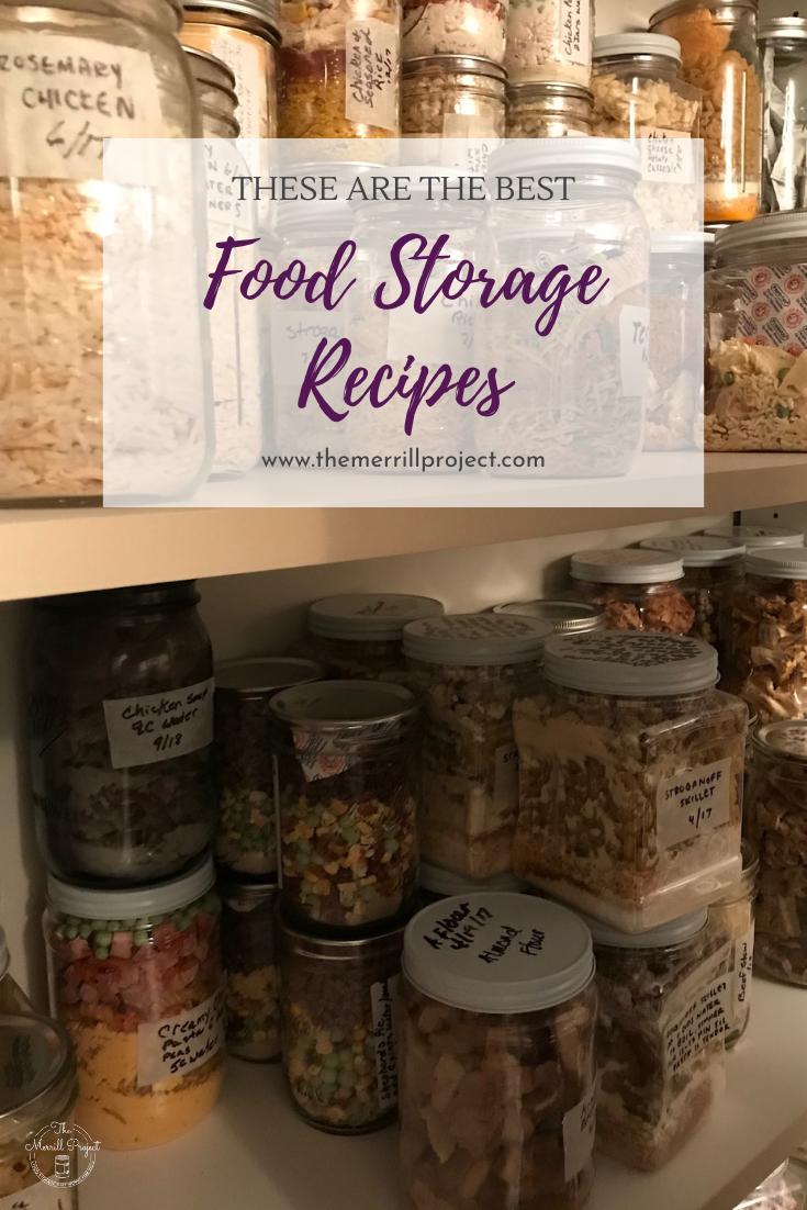 The Best Food Storage Recipes Food Food Storage Emergency Food