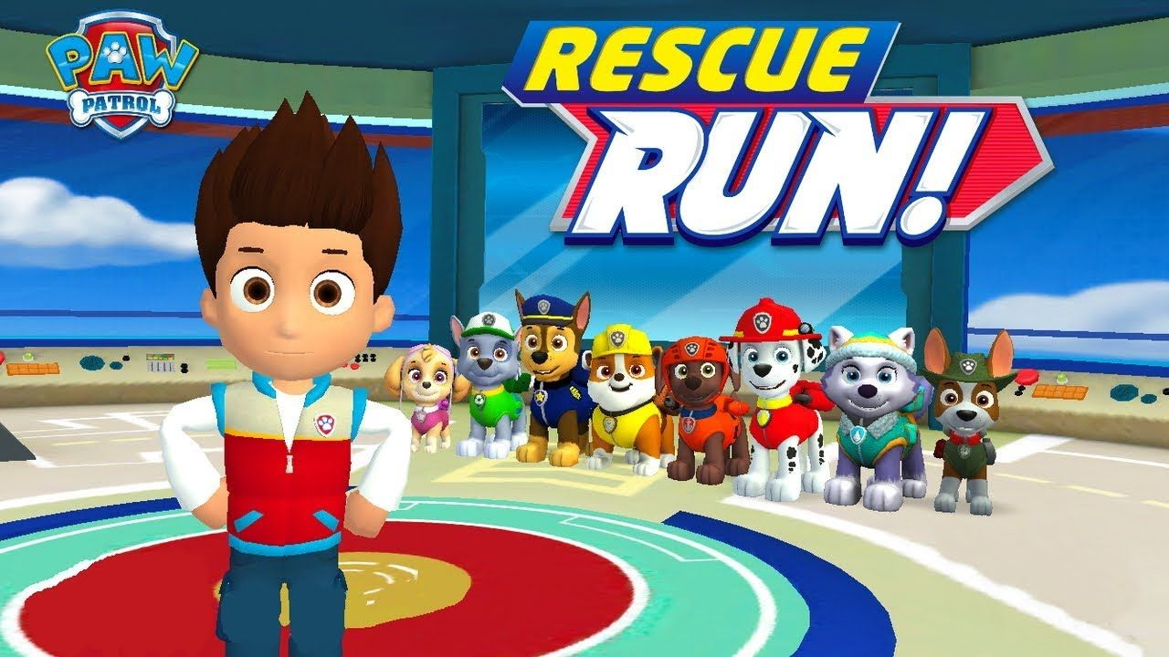 PAW Patrol: Rescue Run! - Nick Jr. Games For Kids   Gameplay for ...