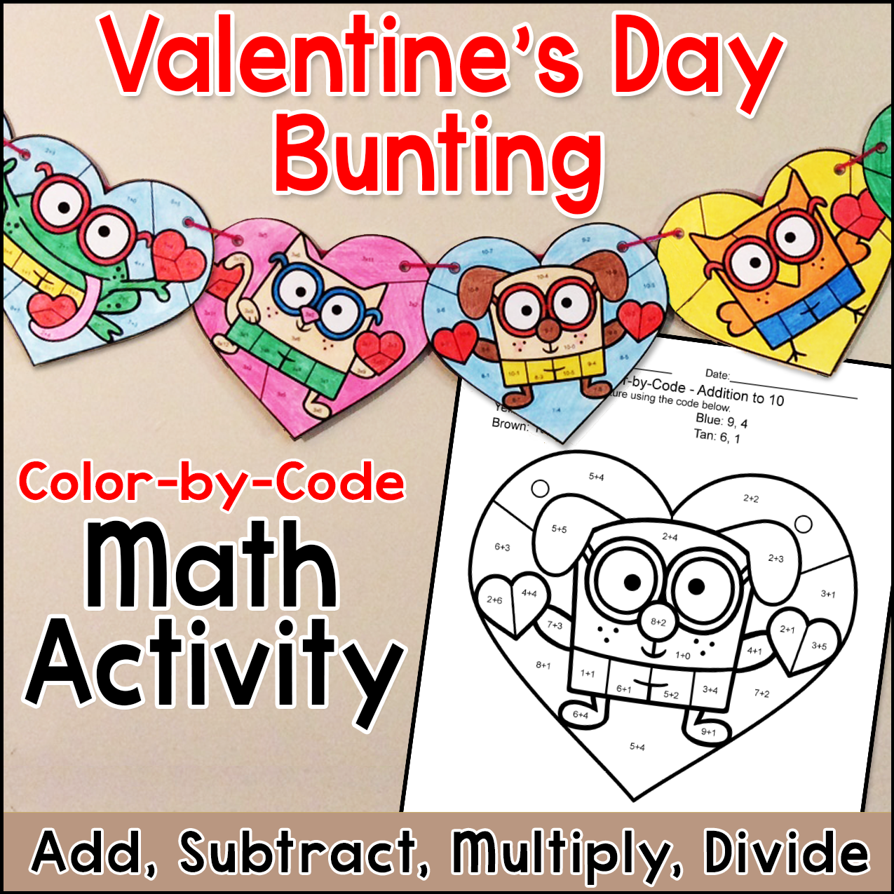 Valentine S Day Coloring Pages Banner