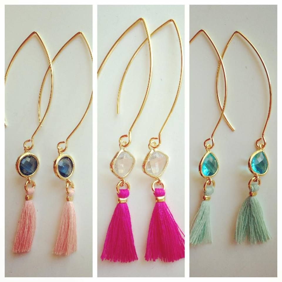 So in love with these delicate tassel earrings! Get them in store at Art and Soul Beads in #Louisville! See something you like let me know! We ship everyday! #jewelryparty #tasseljewelry #tassel #love #jewelrydesigner #feststyle #jewelryoftheday #jewelry #beadstore