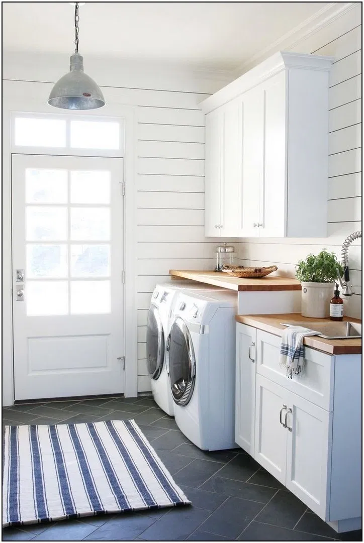 134 Inspiring Small Laundry Room Design And Decor Ideas 19