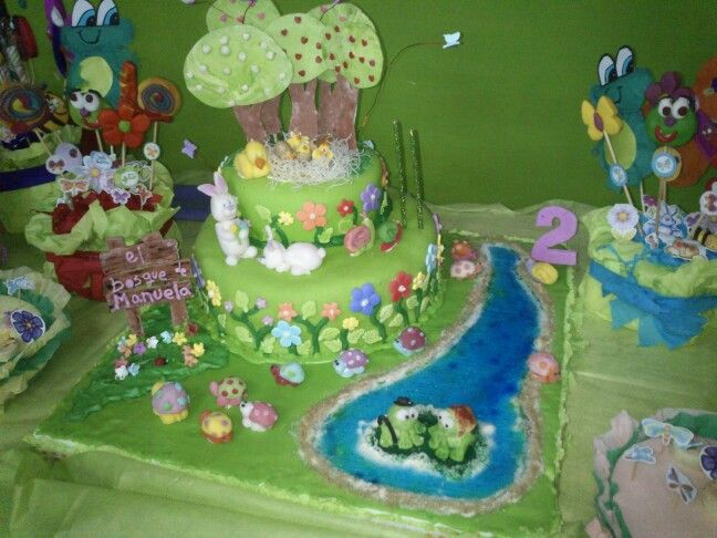 #bosque #cake #torta #animal