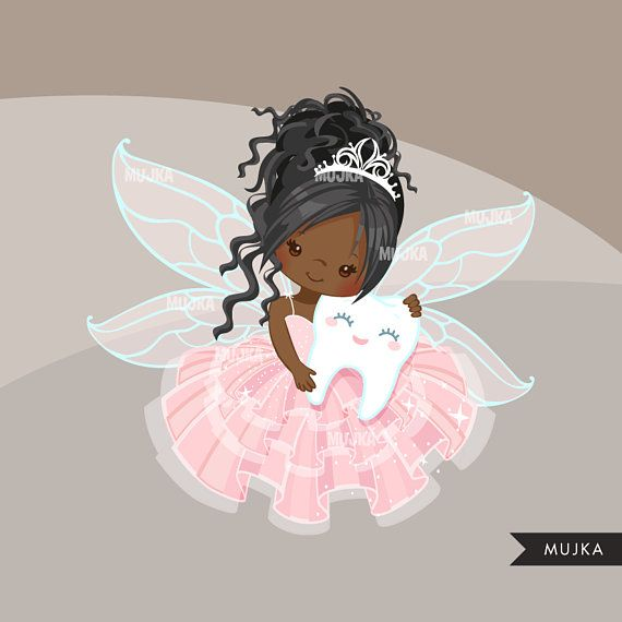 Tooth Fairy clipart. Cute fairy character graphics, angel ...