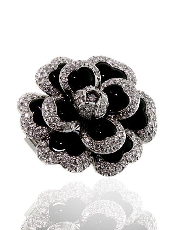 Chanel Camelia Diamond Necklace In Platinum Jewelry Fine Jewelry Beautiful Jewelry