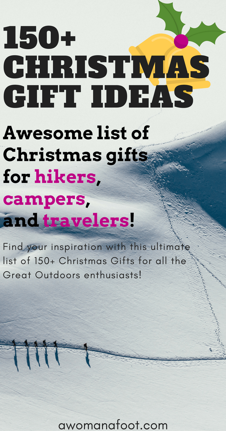 Hiking christmas gift ideas