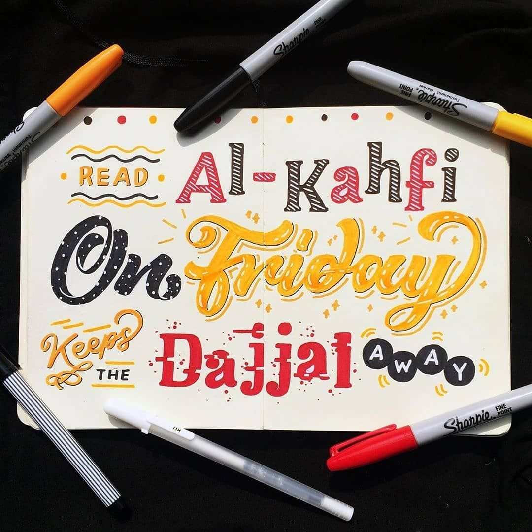 "Kaligrafi Lettering Indonesia on Instagram ""Salah satu"