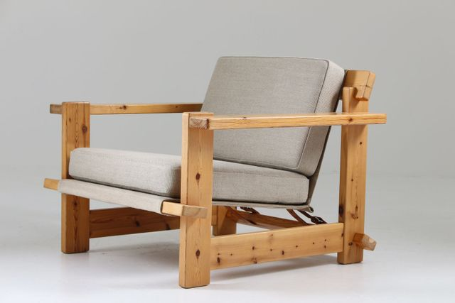 Scandinavian Pine Lounge Chairs 1970s Set Of 2 With Images Mid Century Scandinavian Furniture Lounge Chair Pine Furniture