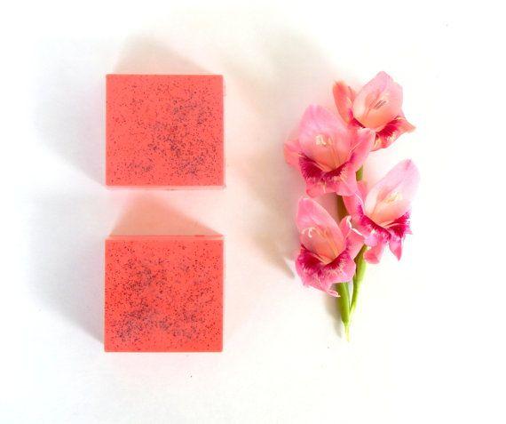 MANGO PAPAYA Soap Vegan Handmade Soap Women by GingerGreySoaps