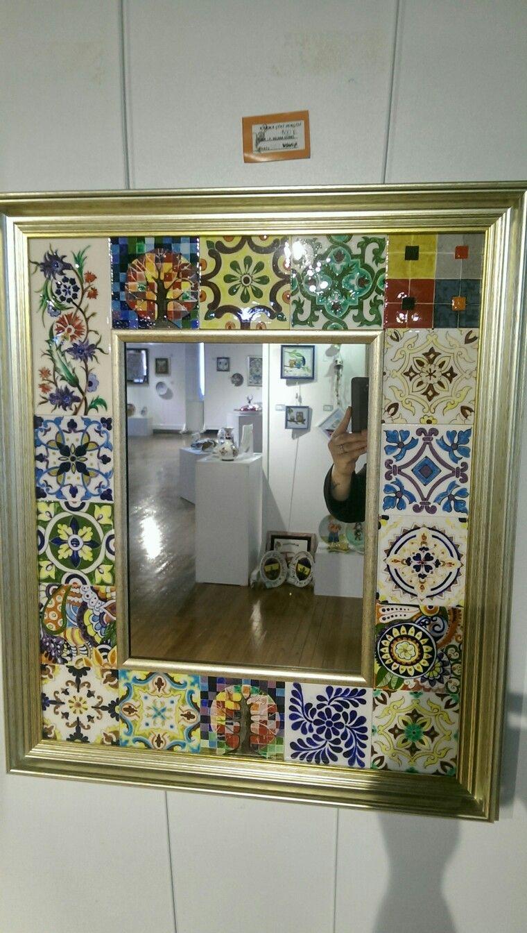 Karma Cini Sergisinden Selma Gurel Calismasi Aynalar