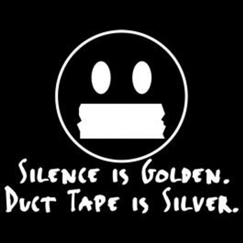 Silence Is Golden Tee Etsy Silence Is Golden Funny Tshirts Siser Vinyl