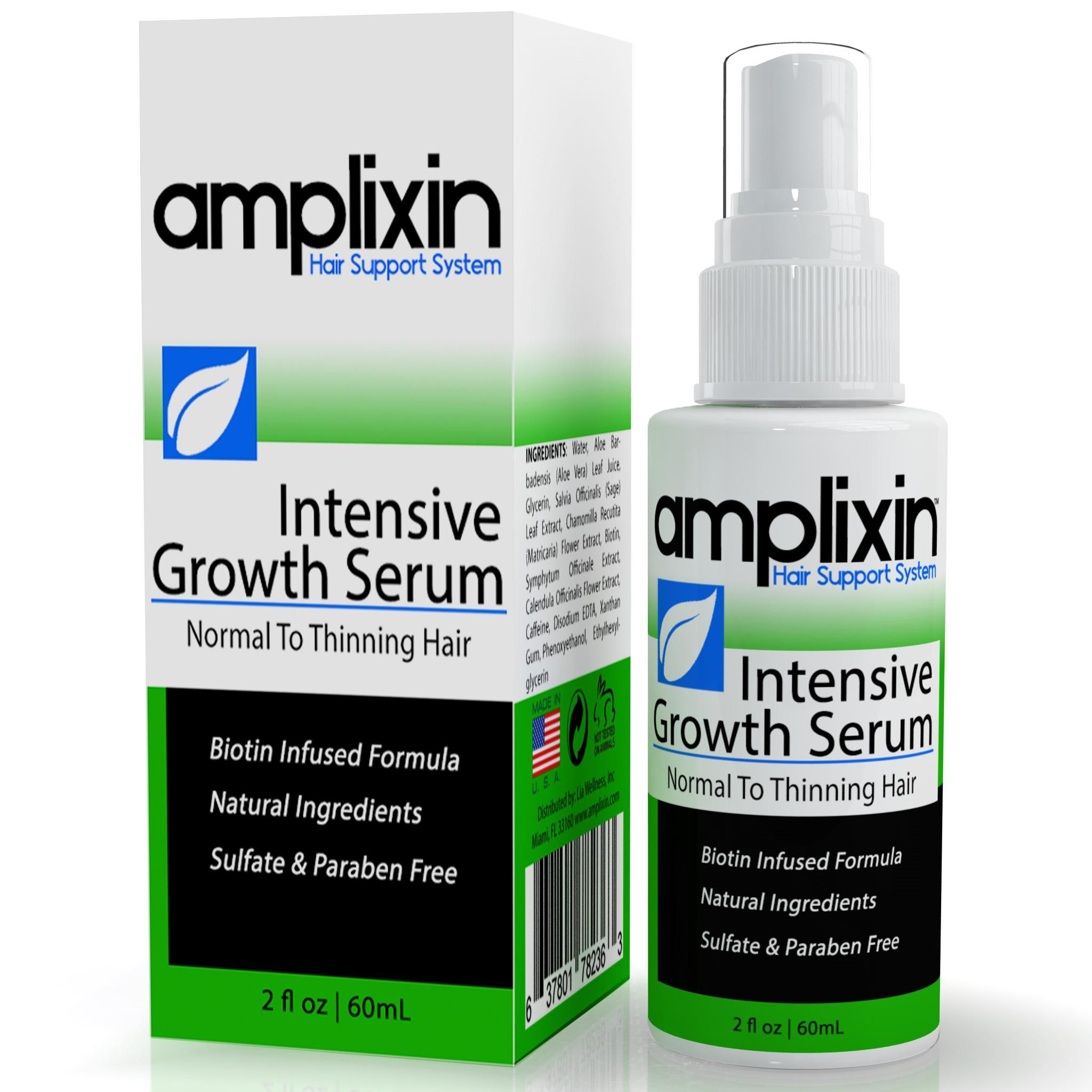 Amplixin Intensive Hair Growth Serum Against