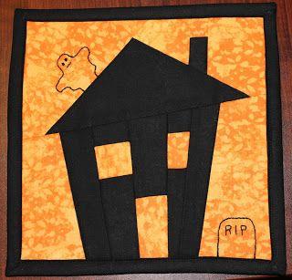 The House of Wilson: Halloween Mug Rug - Free Pattern