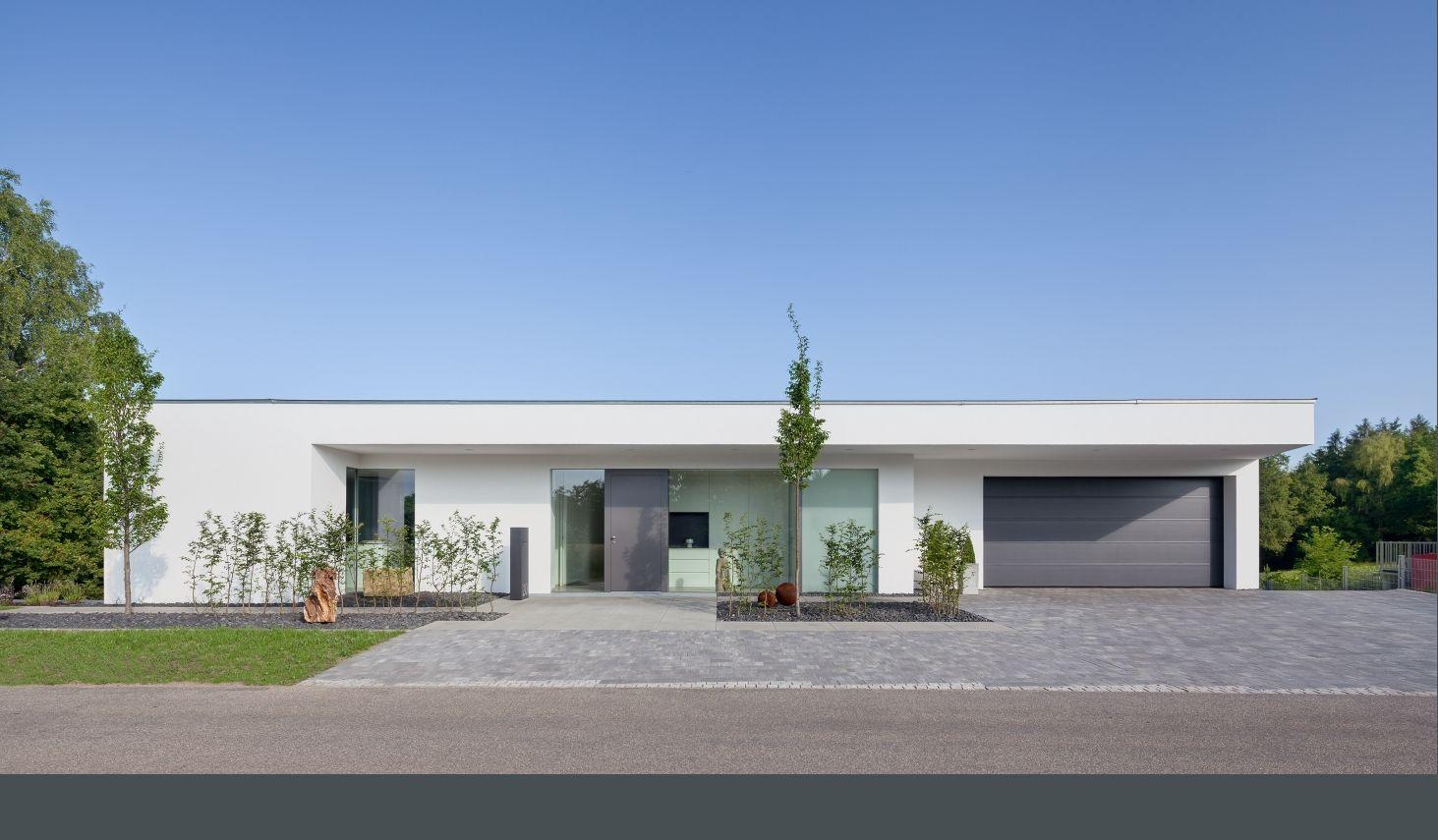 Neubau wh g berg 2013 haus pinterest abs bungalow for Architekten bungalow modern