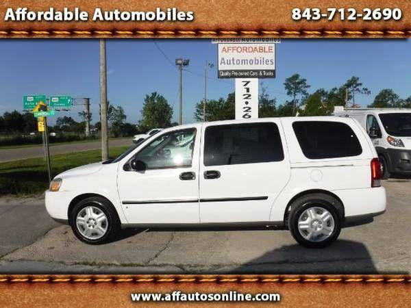 2007 Chevrolet Uplander Cargo Van Affordable Automobiles Buy