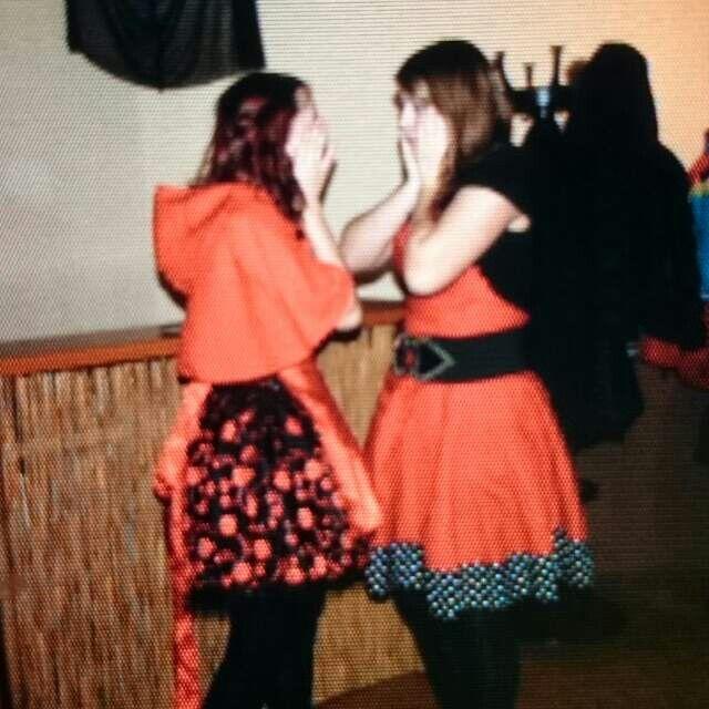 Fasching ~ meine sis und ich ^^  Hab dich lieb *-*