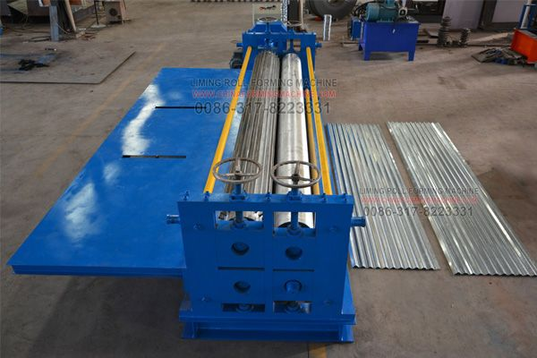 Corrugated Sheet Is Widely Used For The Roof Sheet Or Wall Panel In The House Building So The Corrugated Sheet Ro Roll Forming Corrugated Roofing Corrugated