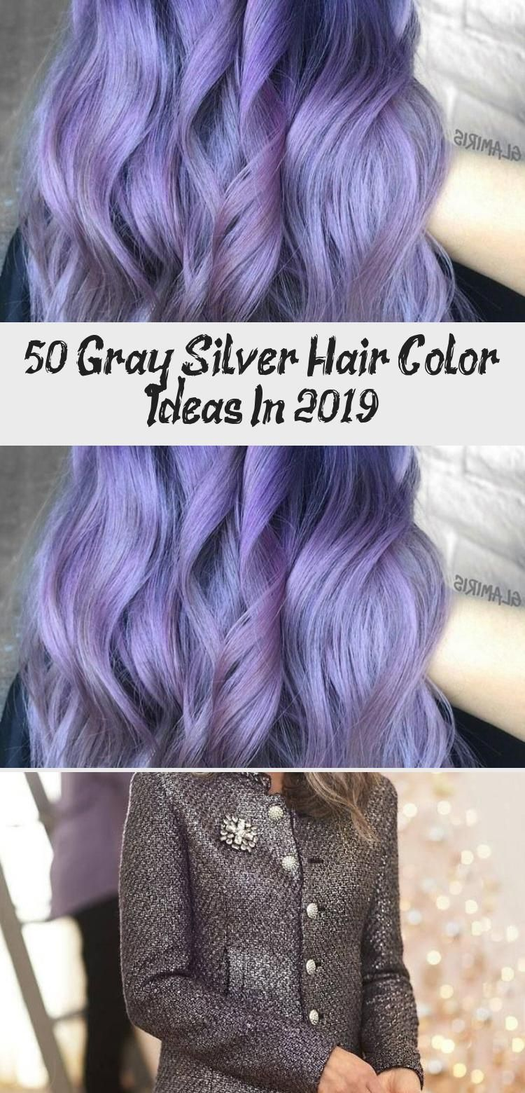 50 Gray Silver Hair Color Ideas In 2019 en 2020