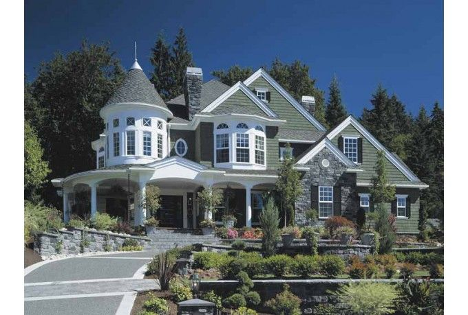 Victorian Style House Plan 4 Beds 4 5 Baths 5250 Sq Ft Plan 132