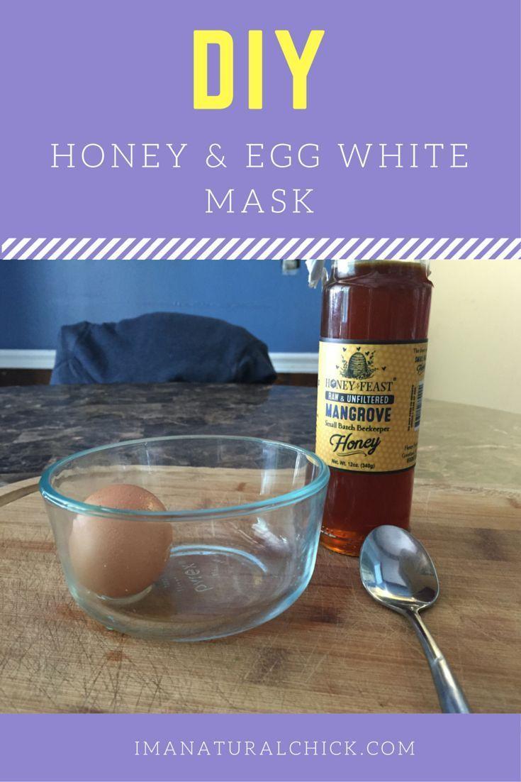 Diy honey egg white mask for acne egg white mask