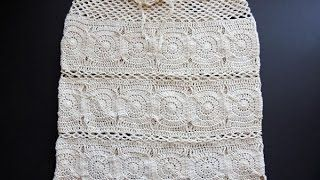 b15652ec77 Crochet  Falda Daniela - YouTube