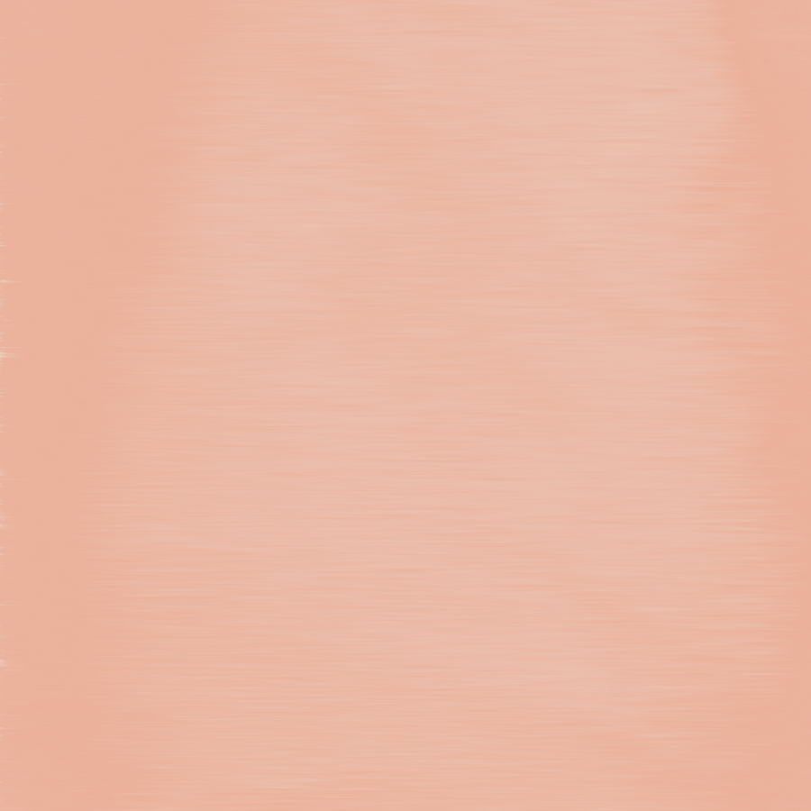 Shell Coral Peach Orange Streaky Hand Painted Wate