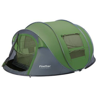Freeport Park Gaynell 5 Person Tent Outdoor Waterproof