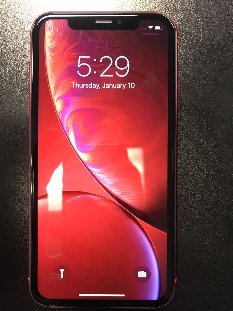 Apple Iphone Xr Product Red 64gb At T A1984 Cdma Gsm