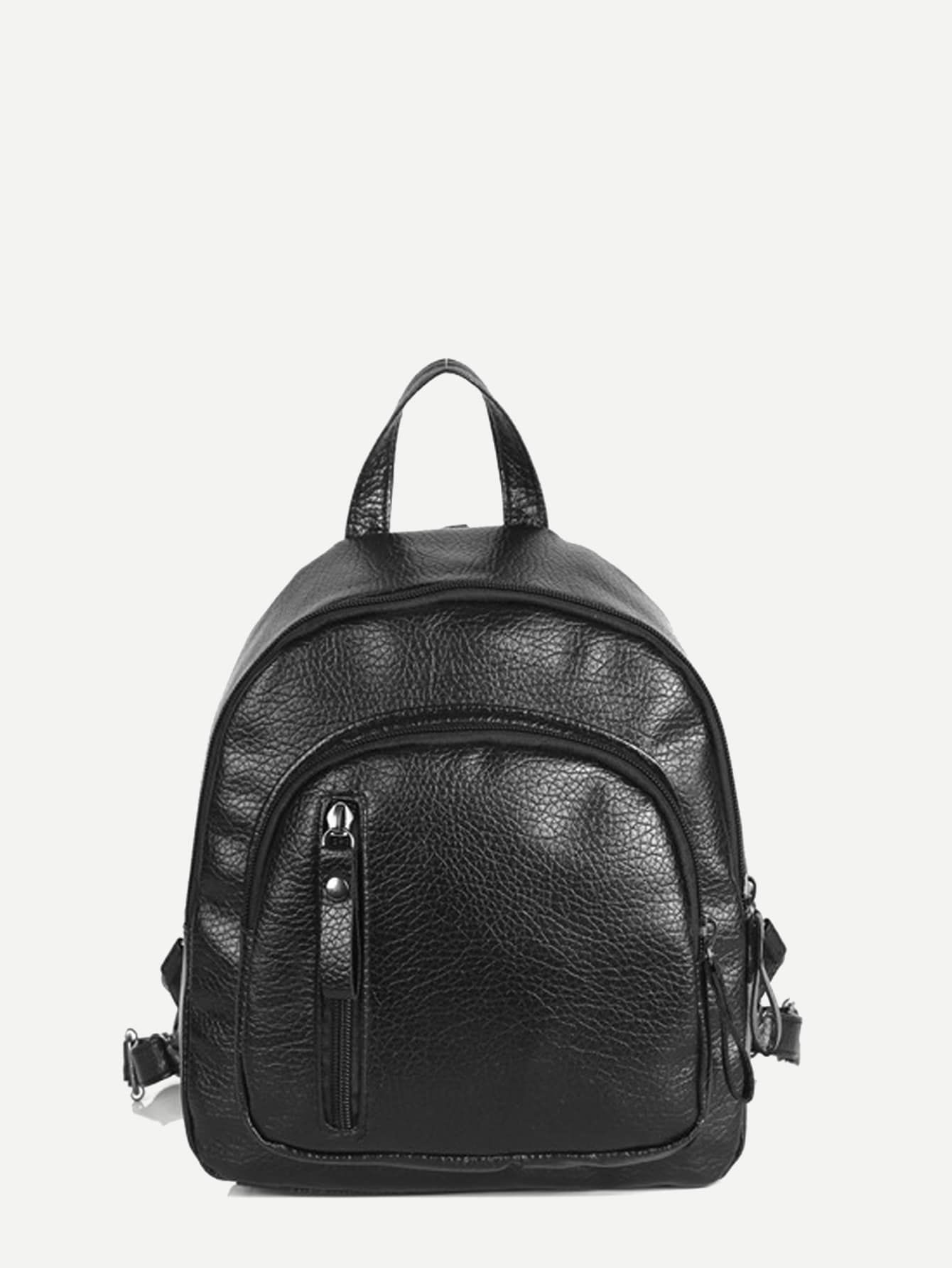 2c52b8deb16 Curved Top Textured Backpack in 2019 | Bags | Curve tops, Backpacks ...