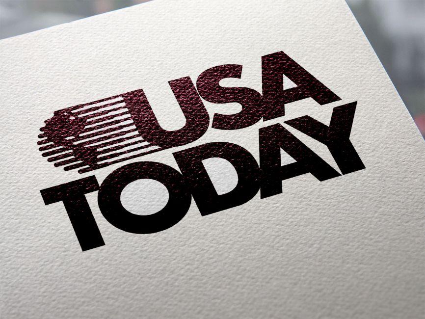 Usa Today Vector Logo Vector Logo Logos Free Logo Mockup