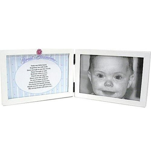 Great Grandma Picture Frame with Poem | Poem, Gift and Footprint art