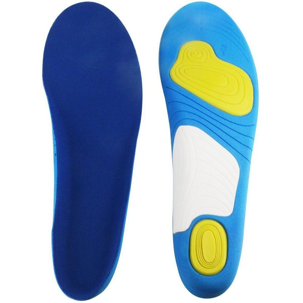 Hlyoon Sports Gel Insoles Shoe Inserts For Women And Men Arch Support 1 Pair Footcare Sports Insoles Shoe Inserts Shoe Insoles