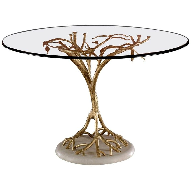 Banci Dining Room Table Dining Table Tree Like Glass Italian