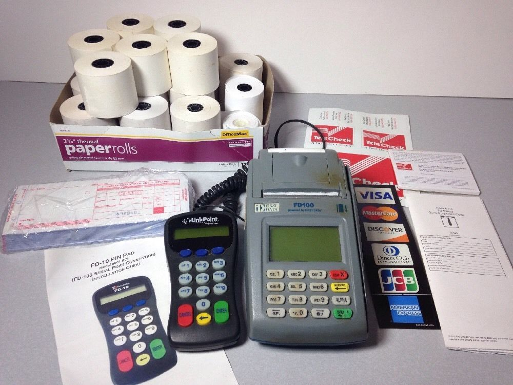 load paper fd100 credit card terminal Included in your box terminal set-up hot keys your terminal will arrive programmed and all you need to do is plug it in you will either have your terminal set-up: internet connection or dial up.