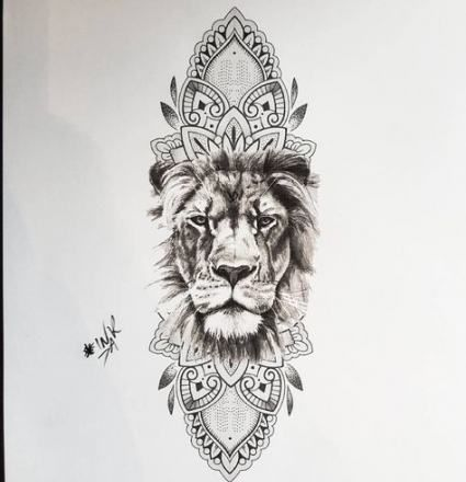 Tattoo Hip Lion Ink 25 Ideas Hip Tattoo Mandala Lion Tattoo Lion Tattoo Sleeves
