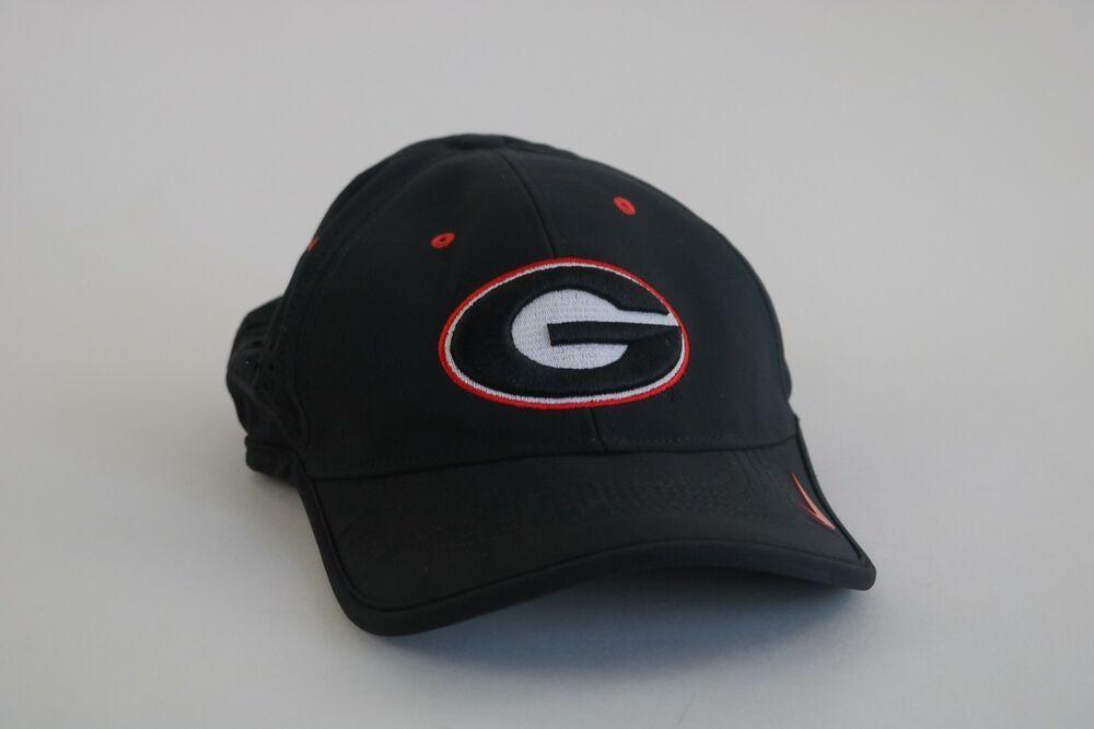 "Nike Dri Fit Hat Cap University Of Georgia Bulldogs UGA ""Legacy91""  Breathable Bl  Nike  GeorgiaBulldogs 6d6dbf8d710"
