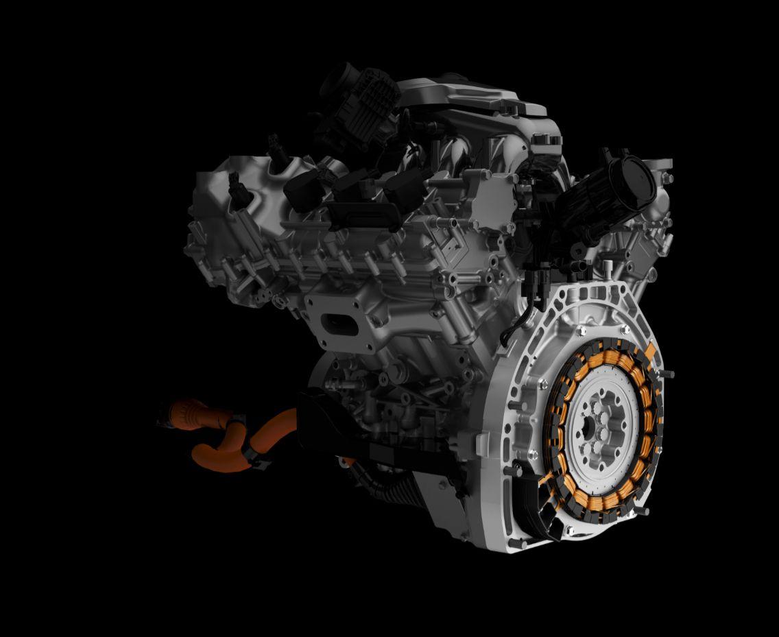 Acura Nsx Twin Turbo Direct Drive Electric Motor
