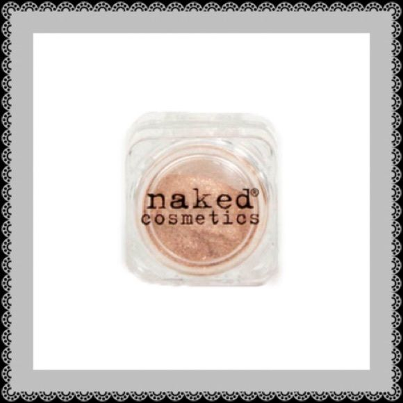 NAKED COSMETICS® MICA PIGMENT Retail $14.99 + tax ($16.32)  Brand: Naked Cosmetics Type: Mica Pigment Shade: Sierra Nevada #02 Size: Full Size; 0.05oz Condition: New, Sealed  Naked Cosmetics is the purest, most natural make-up that exists. Naked Pigments are 100% oxidized Mica, and do not contain talc, oil, wax or other fillers that can be harmful to your skin. It is 100% color to give you a pure product that is non-allergenic, non-perishable, and simply beautiful. Sephora Makeup Eyeshadow