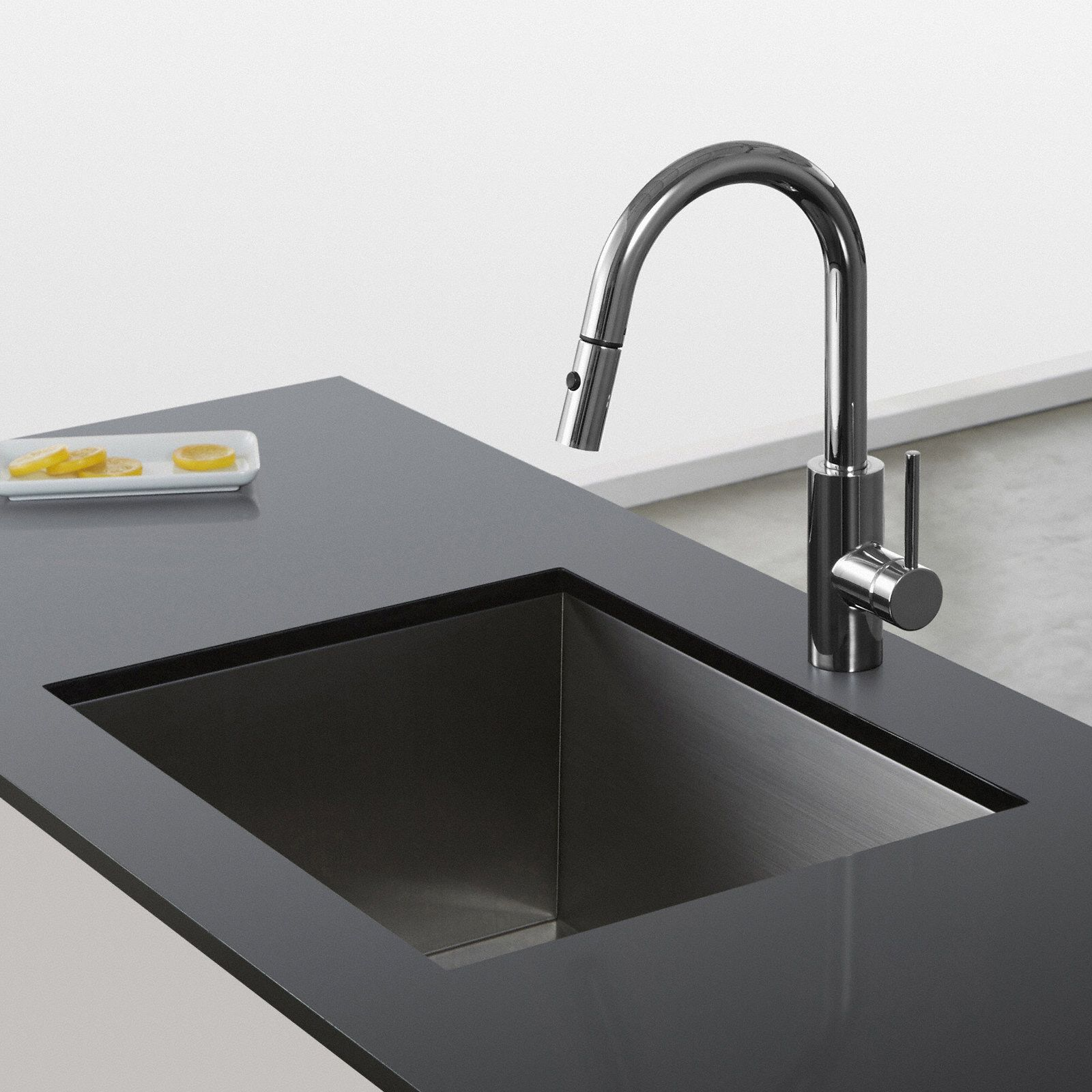 Oletto™ Single Handle Pull Down Kitchen Faucet | Products ...