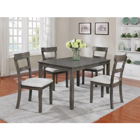 Henderson Grey Dining Collection Interior Design Dining Room Dining Room Table Set Modern Dining Room Set