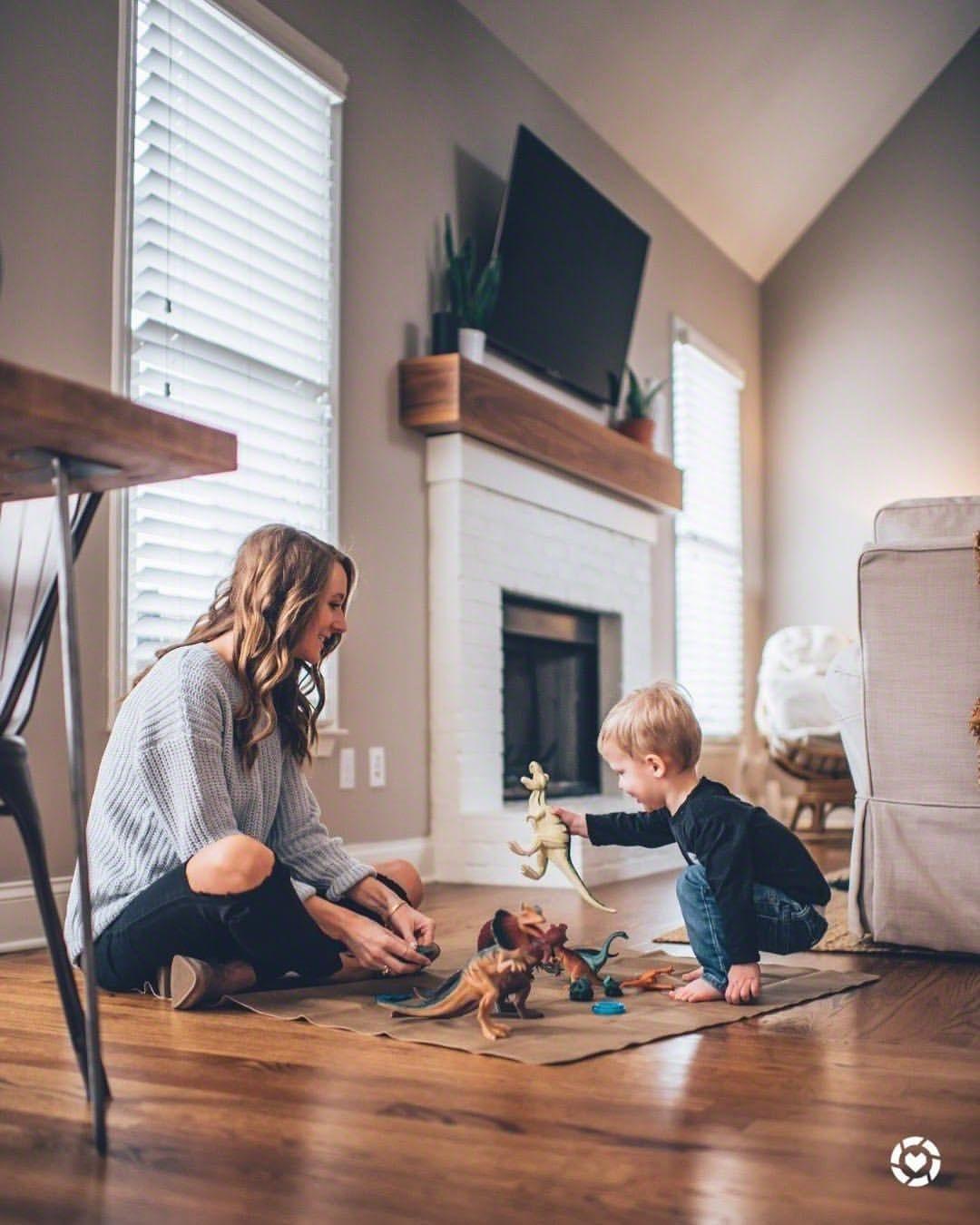 идеи фото семье дома лето