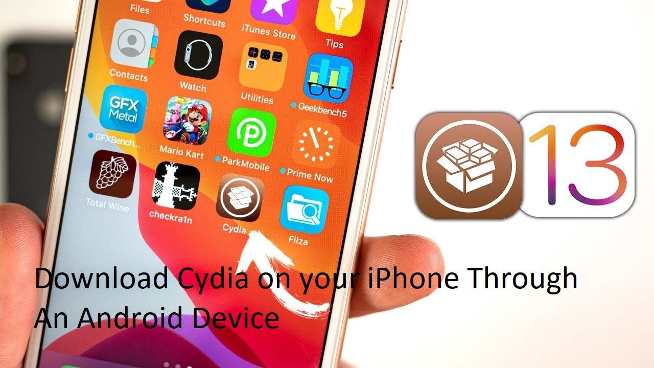 Download Cydia on your iPhone through an Android Device in