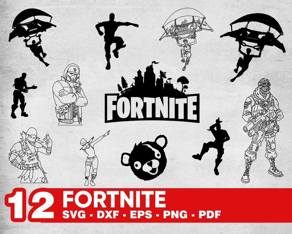 Fortnite svg,png,dxf,Fortnite bundle svg,png,dxf,Fortnite