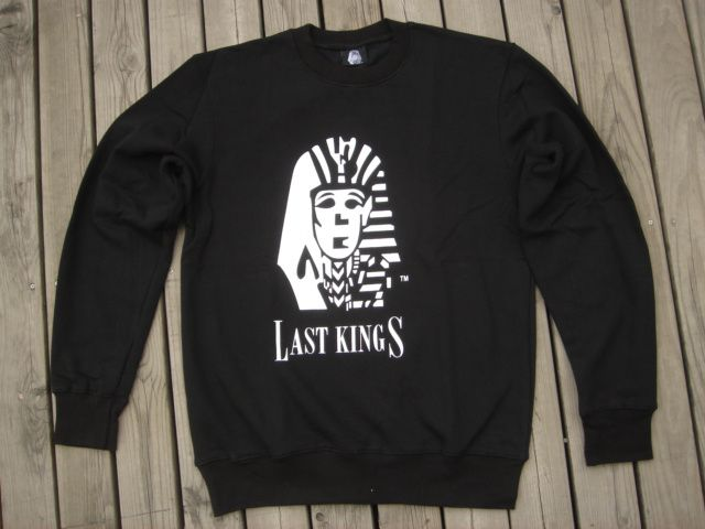LAST KINGS CO PYRMD Kingin/' Pharaoh Tyga Rap Hip Hop Graphic T-Shirt Size Medium