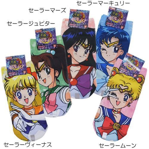 メール便可」「靴下:レディース」 美少女戦士 セーラームーン