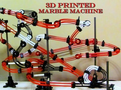 Customizable Marble Machine Marble Machine 3d Printing Diy Prints