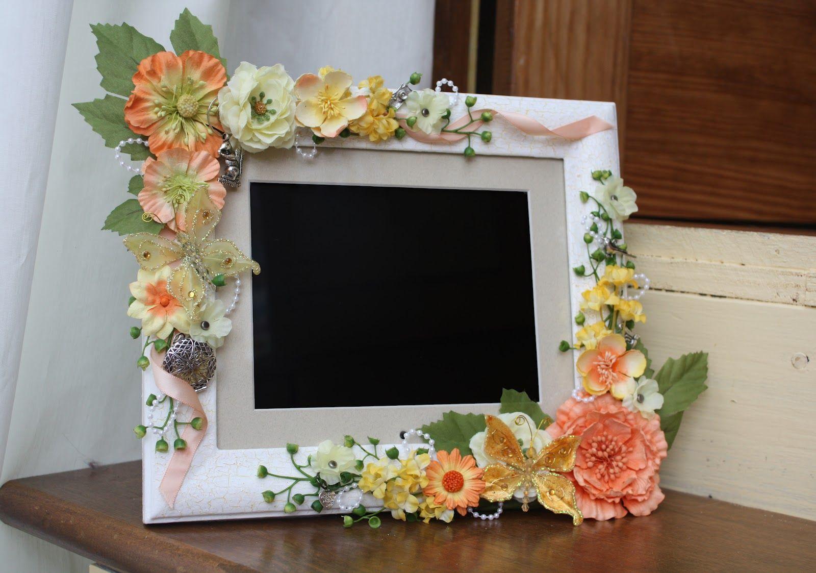 Beautiful flowers digital photo frame digital picture